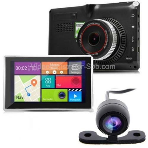 Видеорегистратор с двумя камерами gps и монитором видеорегистратор антирадар 2