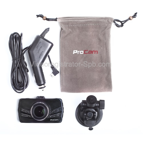 Автомобильный видеорегистратор procam zx1