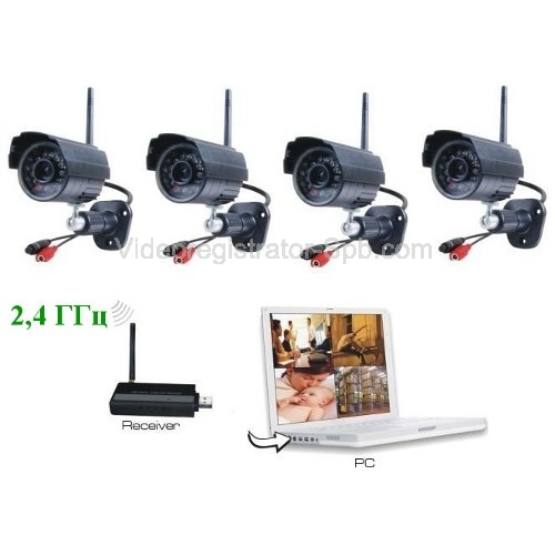 Автономное видеонаблюдение с датчиком движения цена