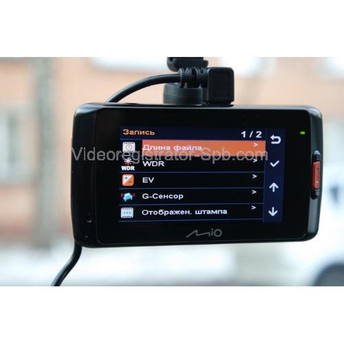 Автомобильный видеорегистратор Mio MiVue 678 - фото 4