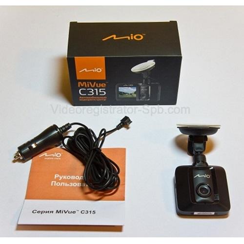 Автомобильный видеорегистратор Mio MiVue C315 - фото 7