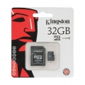 Карта памяти Kingston MicroSD 32GB Class 10