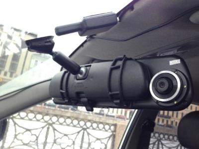 Автомобильный видеорегистратор-зеркало Blackbox DVR MS430