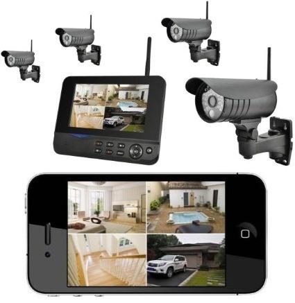 Комплект видеонаблюдения на 4 камеры GosCam 8109JU