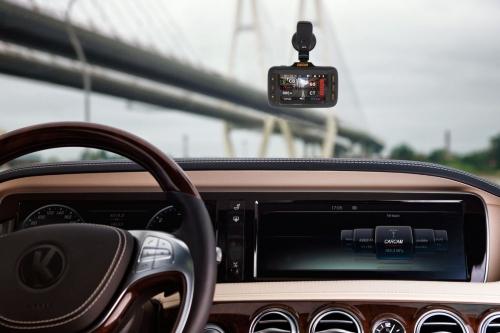Автомобильный видеорегистратор Каркам Hybrid Super HD GPS с антирадаром