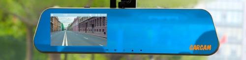 Автомобильный видеорегистратор-зеркало Каркам Z7 GPS