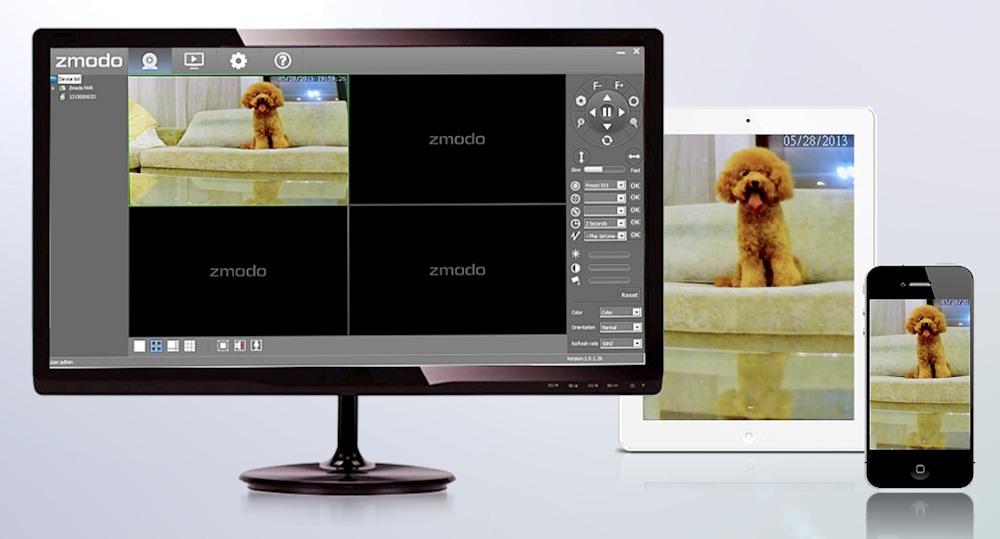 Комплект видеонаблюдения на 8 камер Zmodo PoE Офис